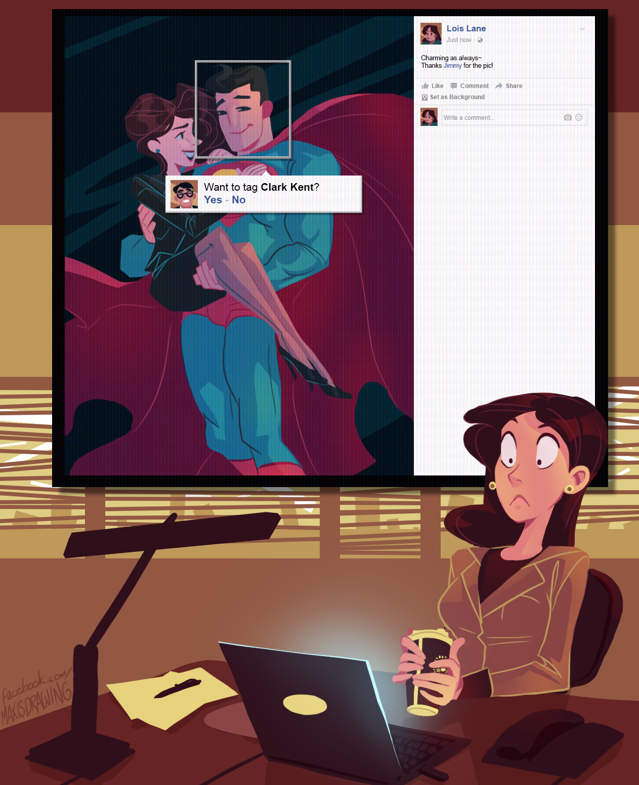 Want to tag clark kent superman know your meme lois lane just now charming as always thanks jimmy for the pic like comment thecheapjerseys Image collections