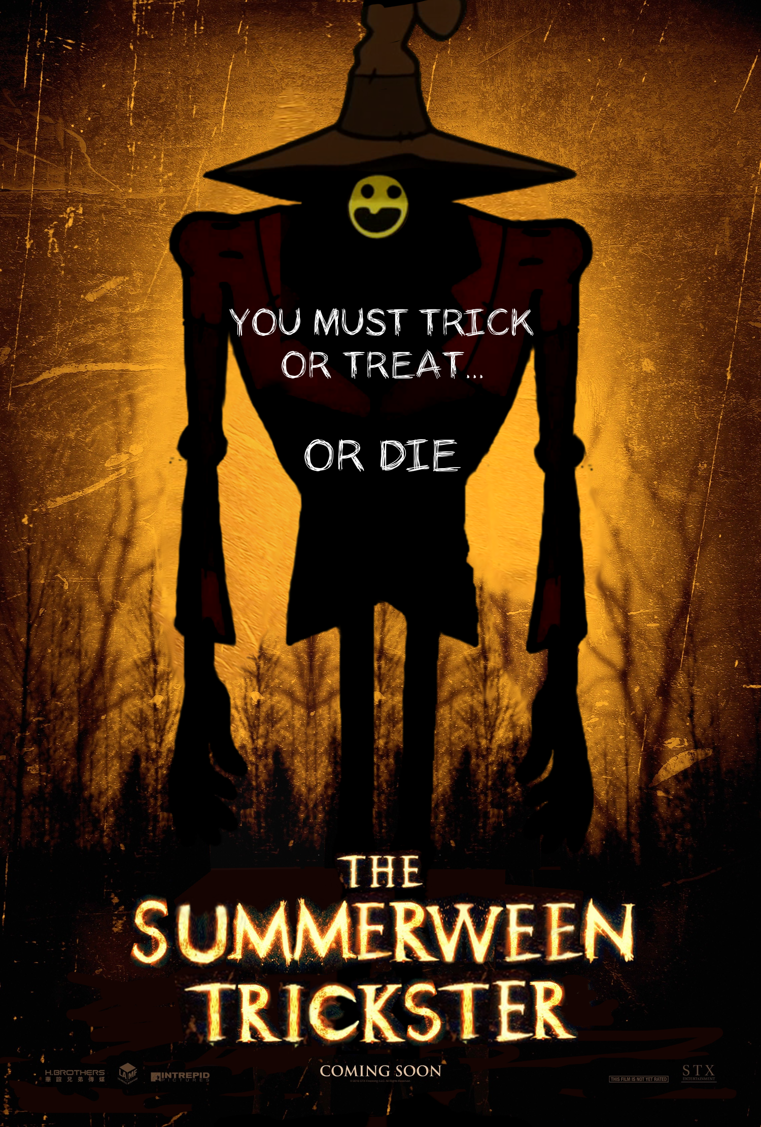 the summerween trickster bye bye man poster parodies know your meme