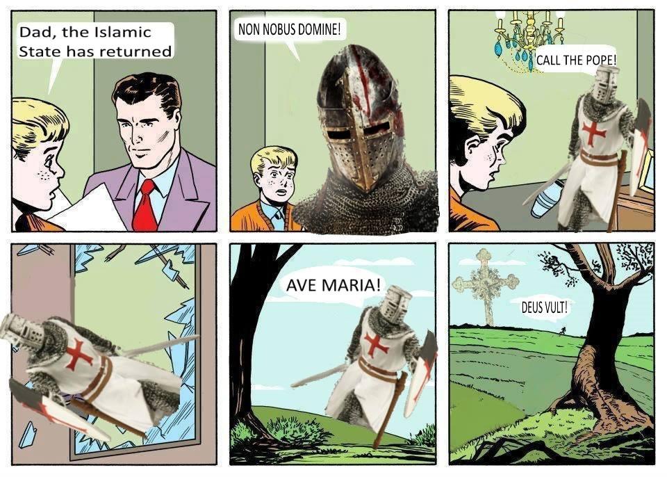 Know Your Meme Deus Vult