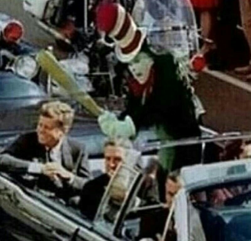 Jfk Assassination The Cat In The Hat Know Your Meme