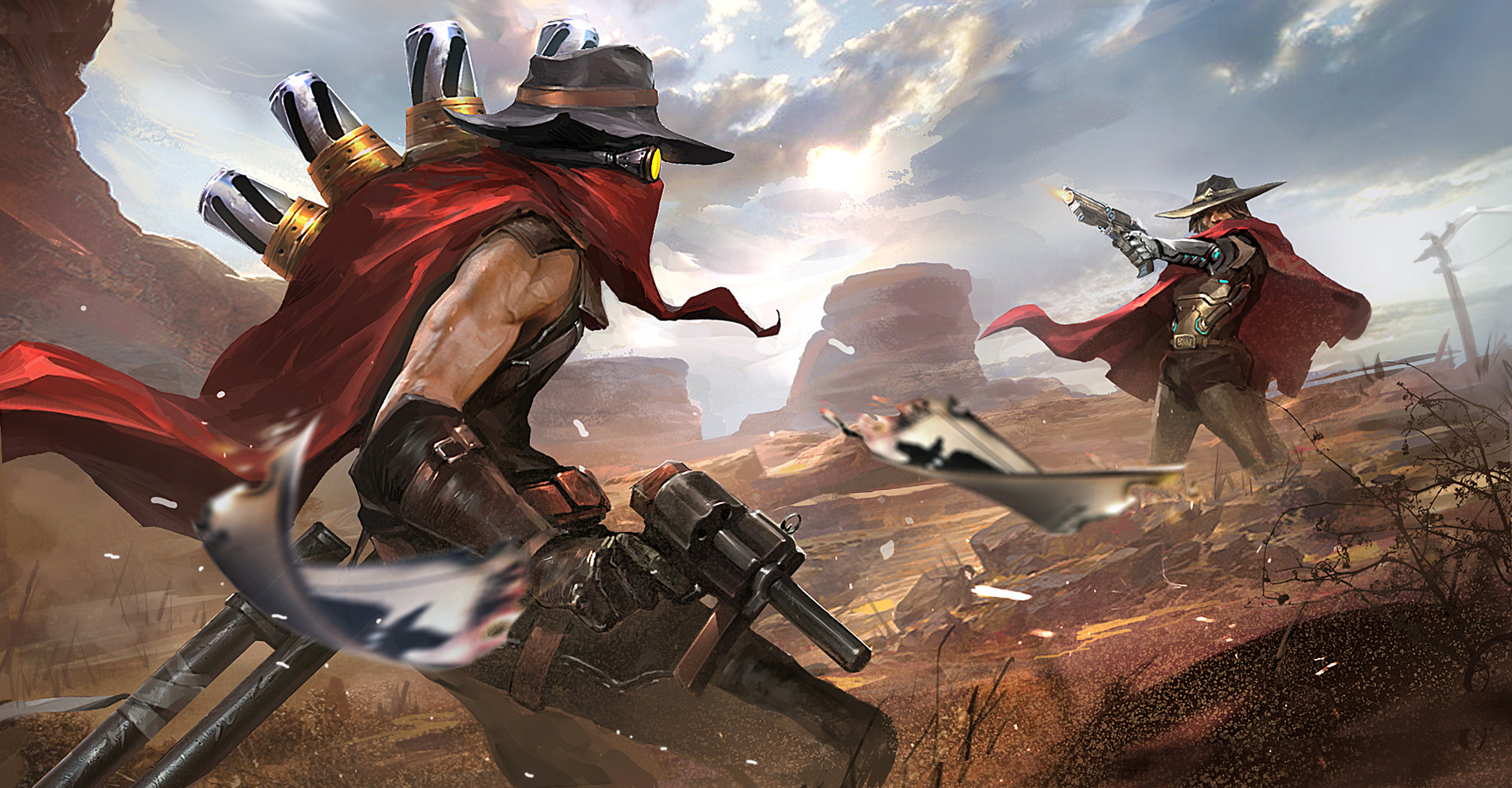 McCree Vs Jhin Wild West