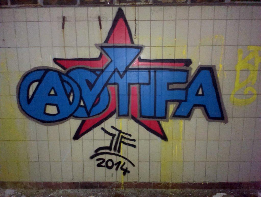 Antifa Graffiti