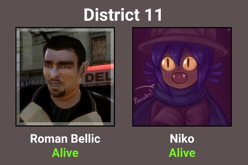 niko and roman bellic hunger games simulator know your meme