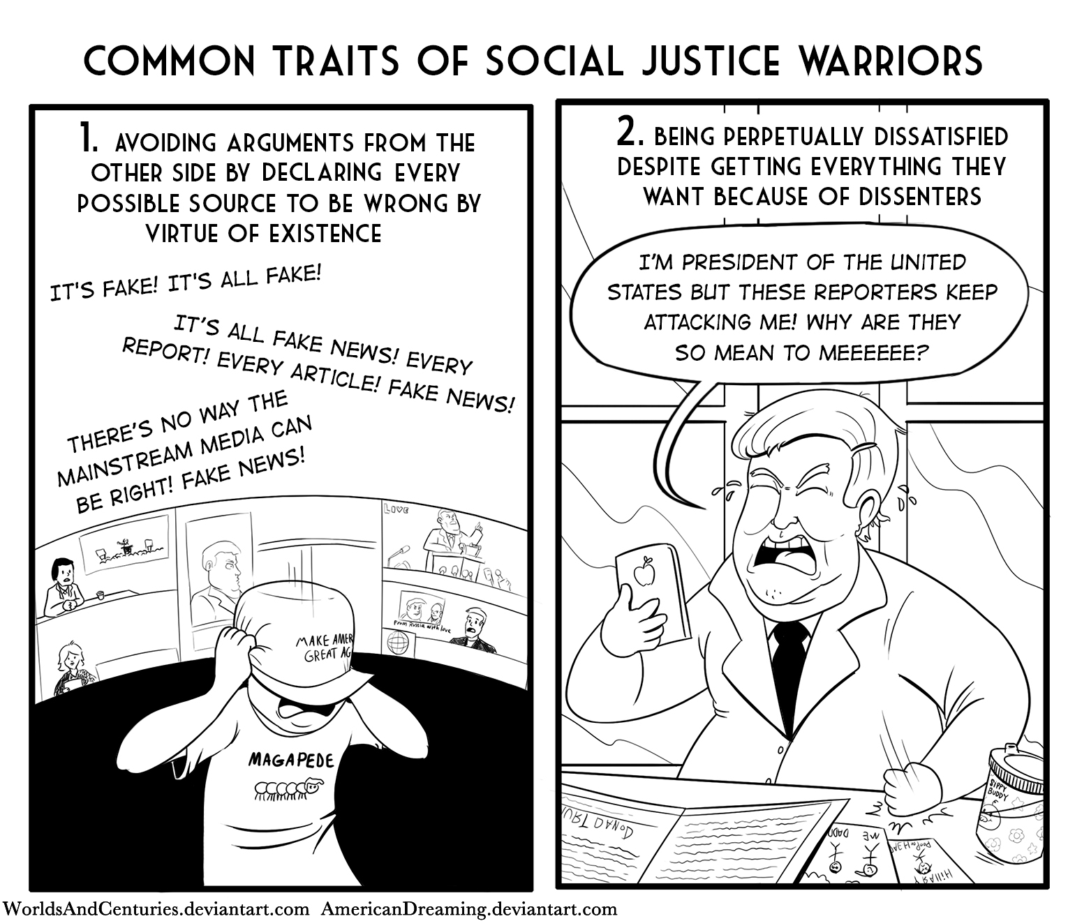 common traits of sjws social justice warrior know your meme