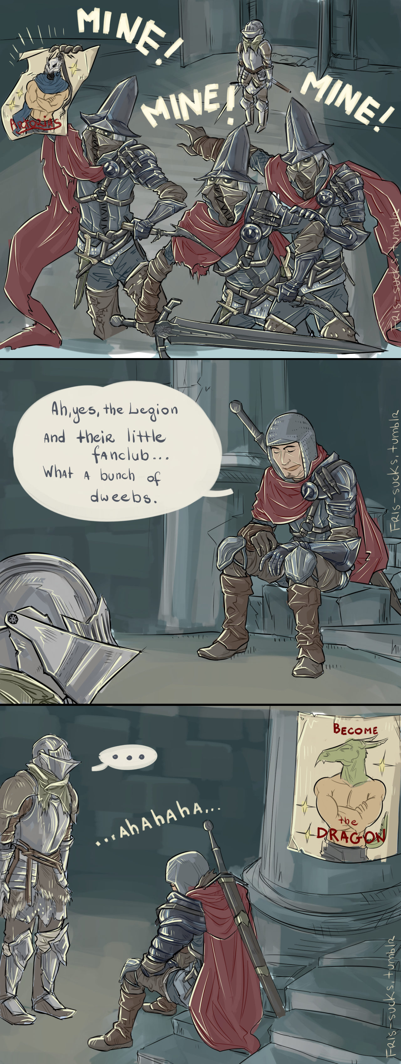 Fanboys At Heart Dark Souls Know Your Meme