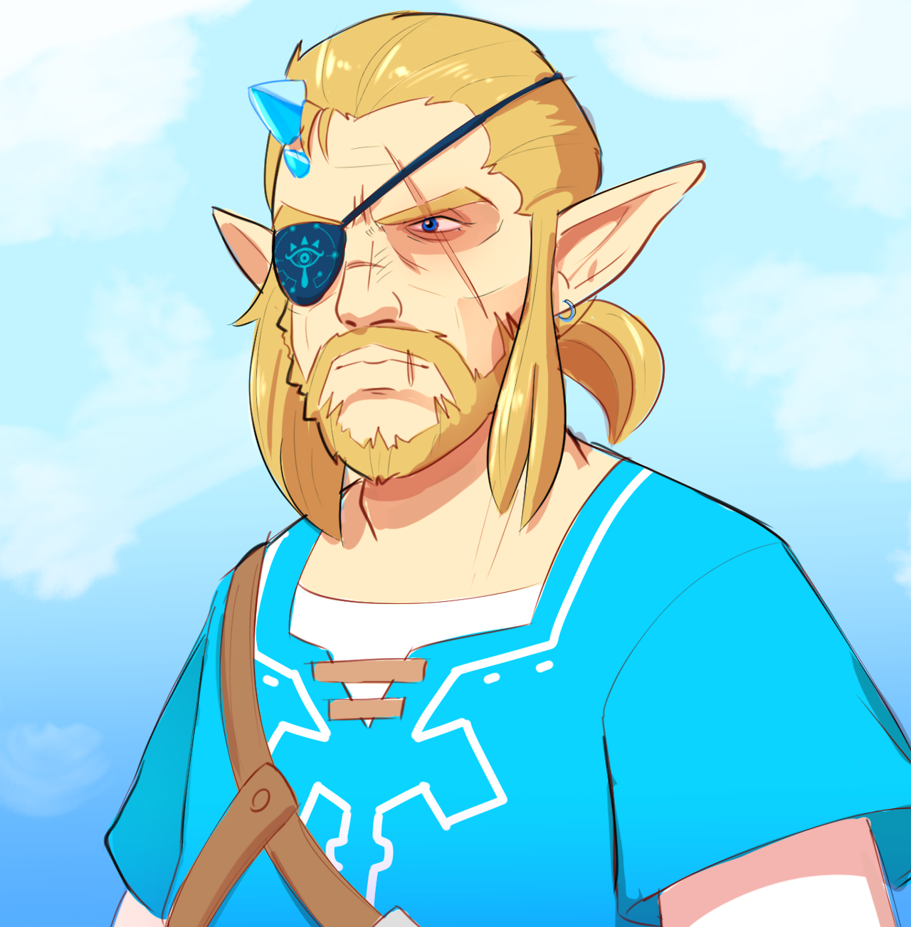 punished link the legend of zelda breath of the wild know your meme