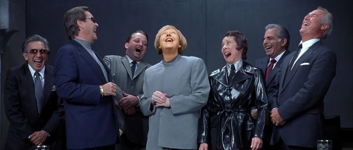 British Dr Evil Laughing Theresa May Know Your Meme