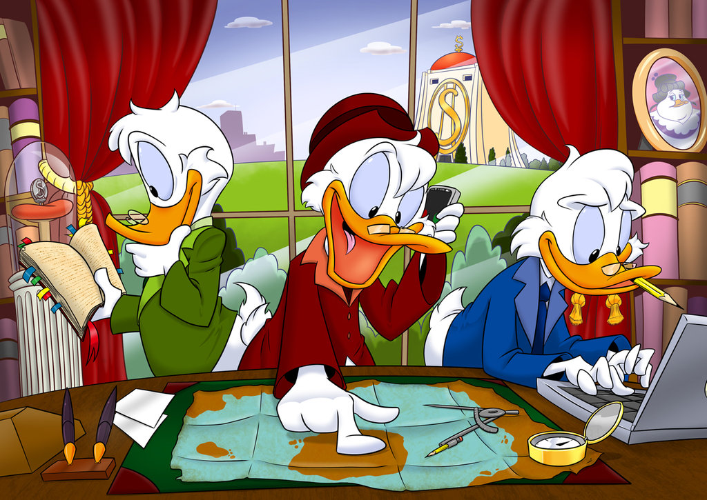 older huey duey and louie ducktales know your meme