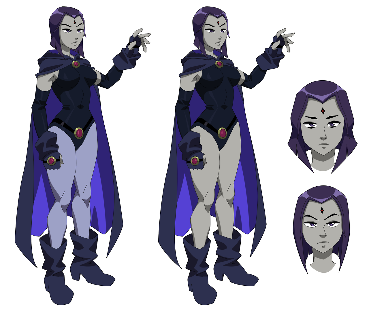 Raven As Other Raven  Teen Titans  Know Your Meme-3012