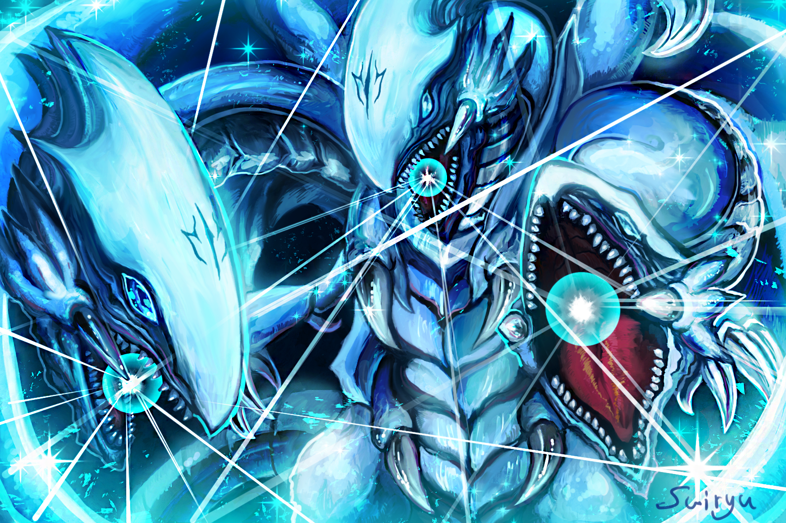 Blue Eyes Ultimate Dragon Who May Or Not Actually Be Better