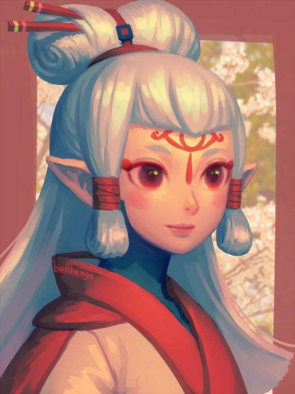 Paya Fan Art The Legend Of Zelda Breath Of The Wild