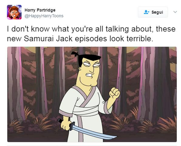 Samurai Jack Funny Moments Samurai Jack Know Your Meme