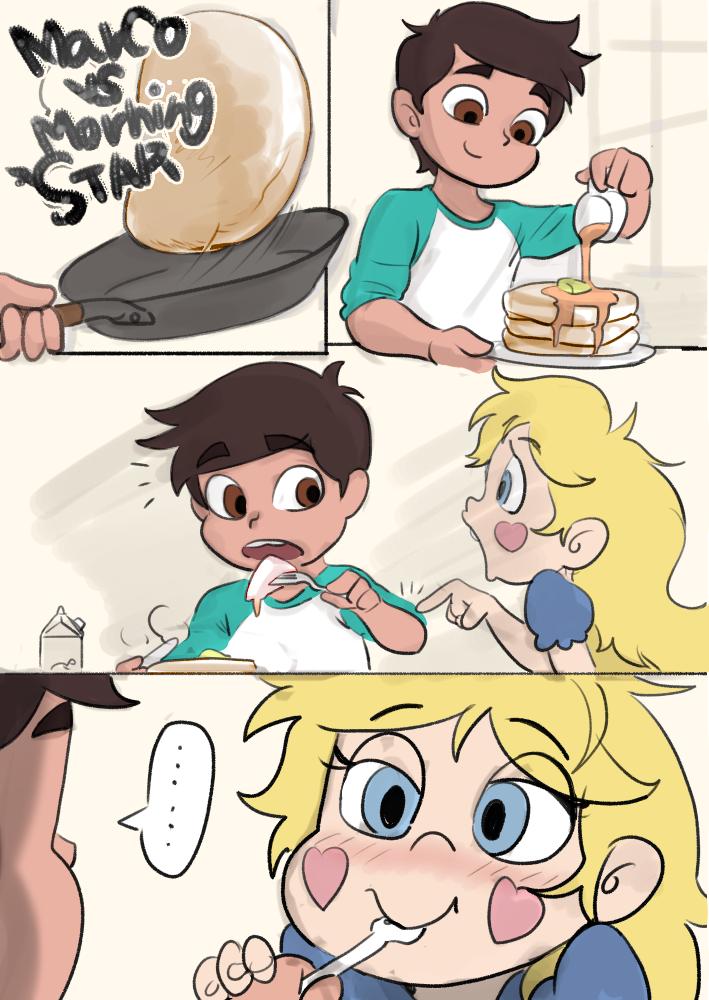 Marco vs. Morning Star (colorized) | Star vs. the Forces of Evil ...