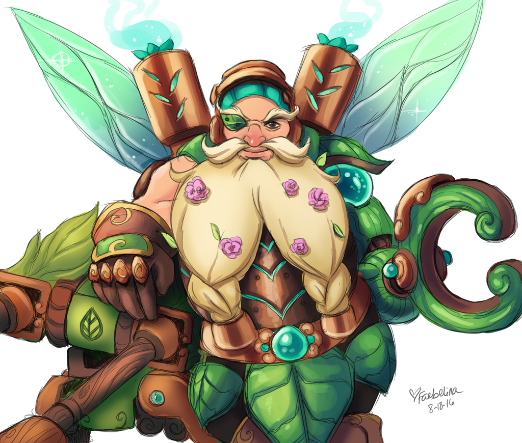 faerie torbjorn overwatch know your meme