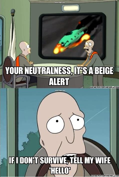 Beige alert