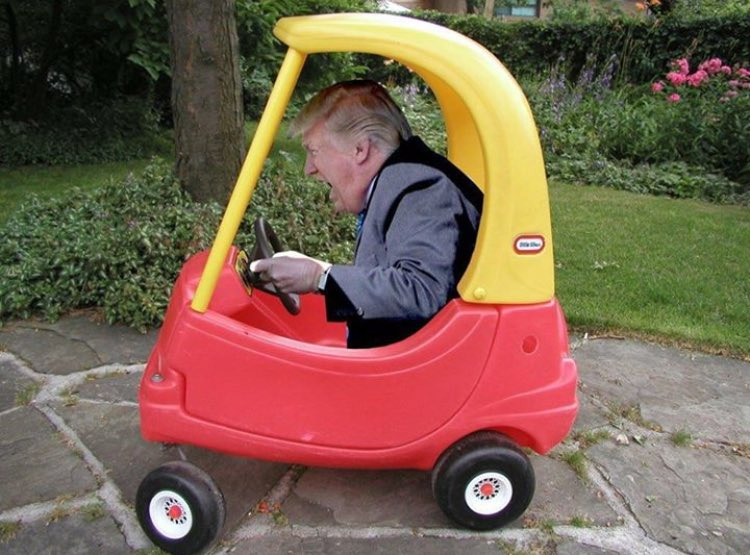 donald trump s kiddie truck donald trump s truck photographs