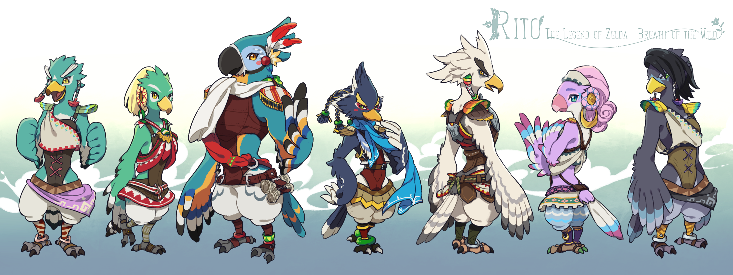 Rito By Ningukt The Legend Of Zelda Breath Of The Wild Know