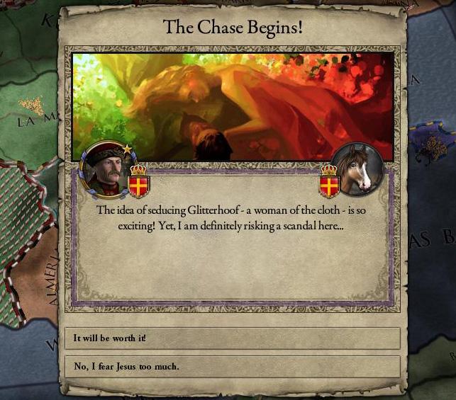 Glitterhoof seduced | Crusader Kings II | Know Your Meme