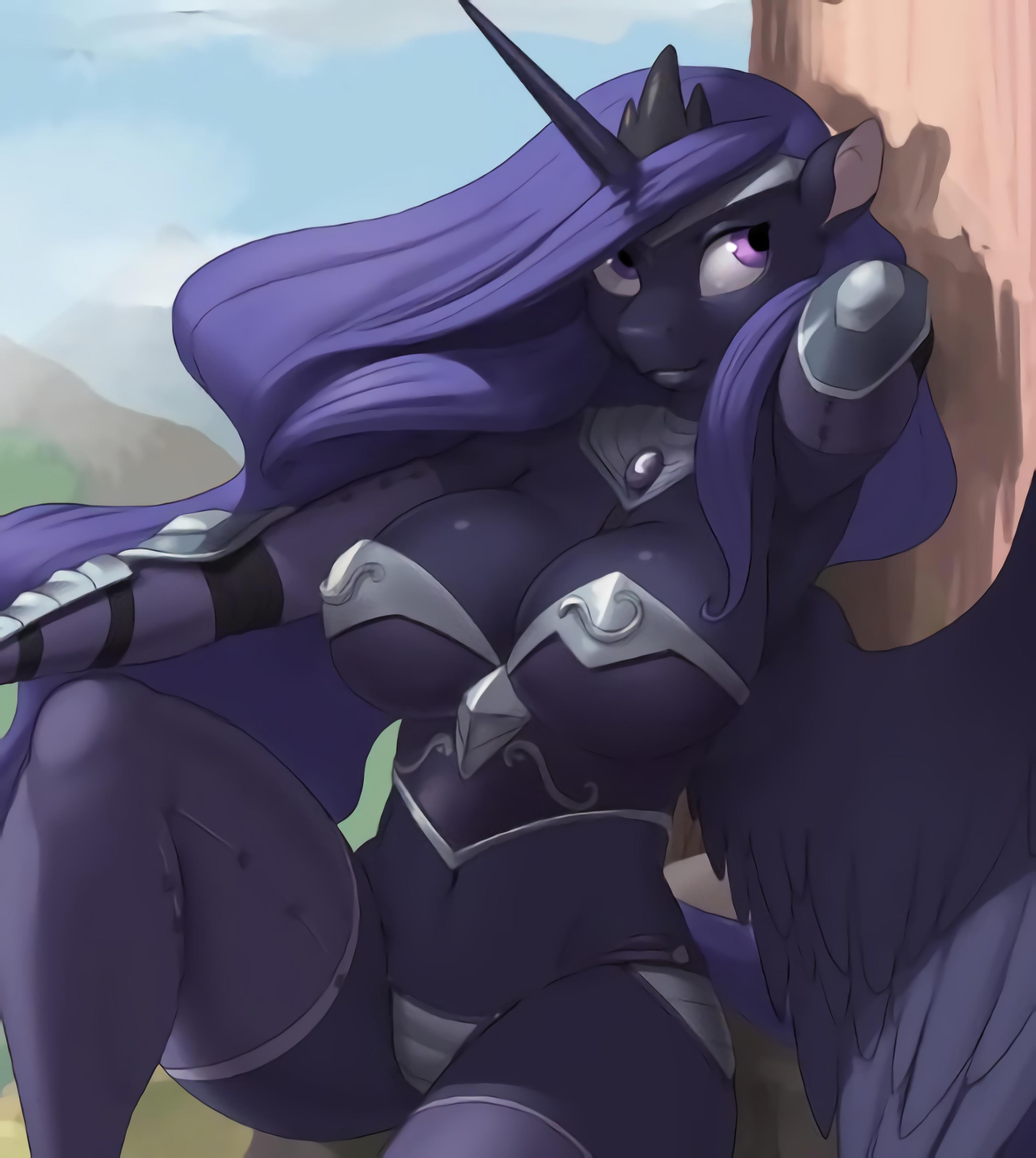Luna Warrior Princess by Kevinsano   My Little Pony ...