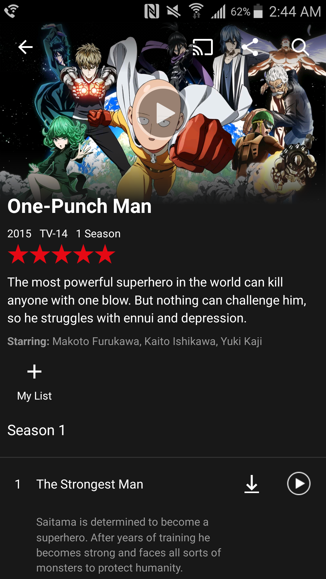 Guess what is on Netflix? | One-Punch Man | Know Your Meme