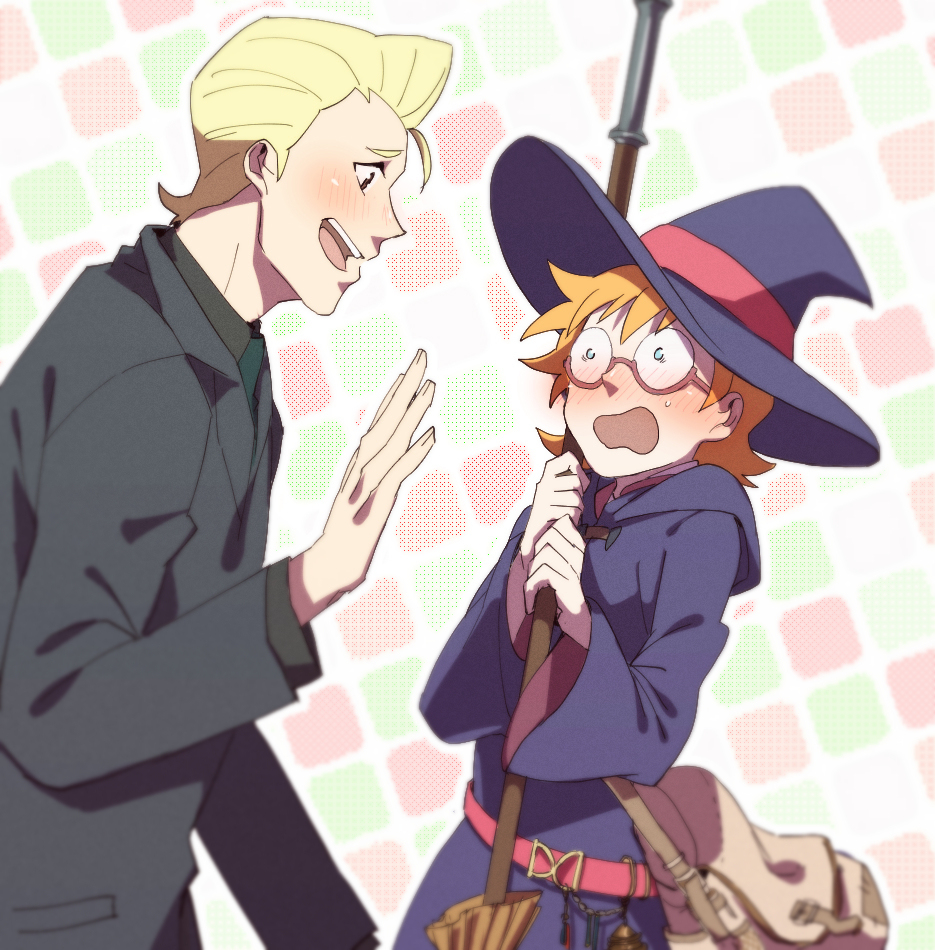 Lotte X Frank Little Witch Academia Know Your Meme