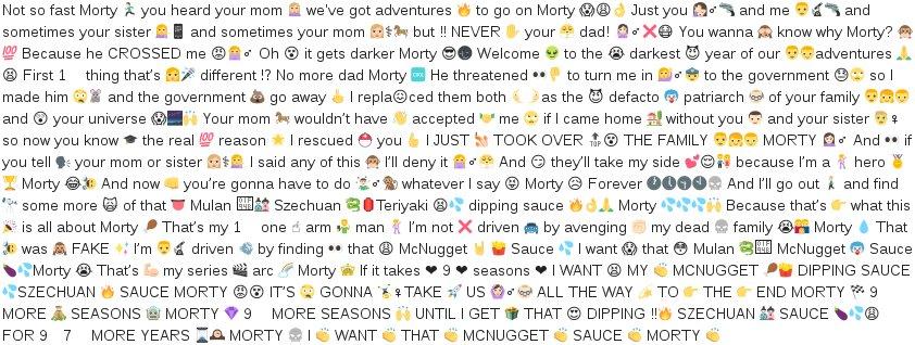 Emoji Pasta Mcdonald S Mulan Szechuan Sauce Know Your Meme
