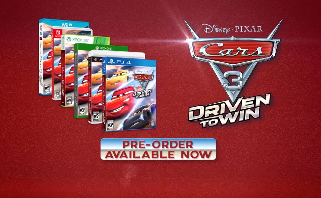 Cars 3 Video Game Announced And Up For Pre Order Pixar S Cars