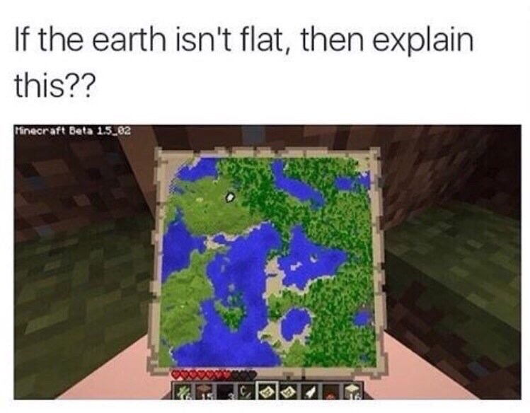 flat minecraft world