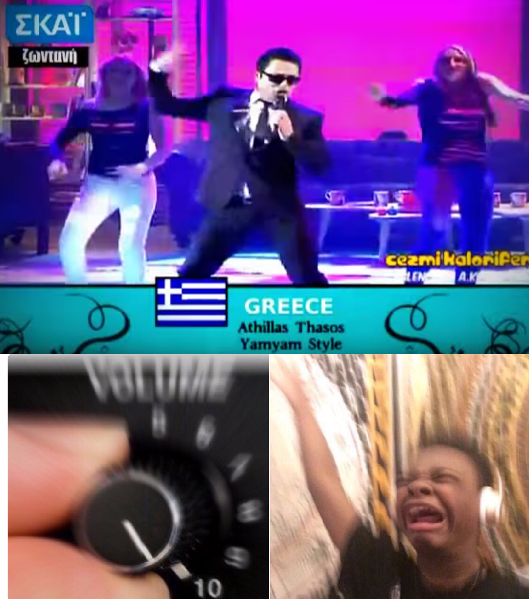 Athillas Thasos Turn Up The Volume Know Your Meme