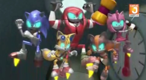 Mecha Team Sonic Sonic The Hedgehog Know Your Meme