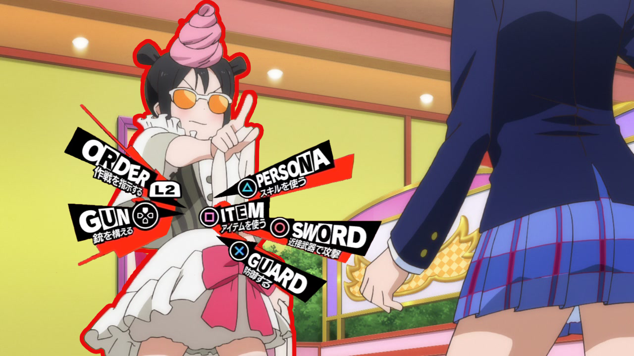 Nico Steal Your Heart Persona 5 Battle Menu Parodies Know Take 2 Osword Guard Cartoon Games Anime