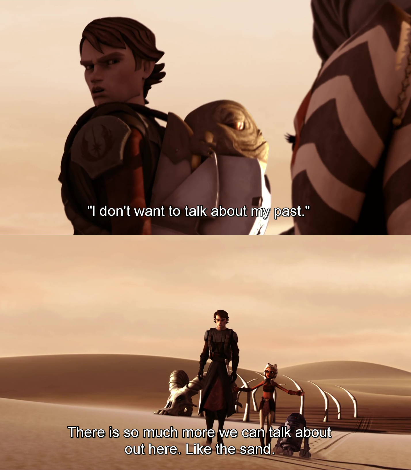 Ahsoka No I Dont Like Sand Know Your Meme