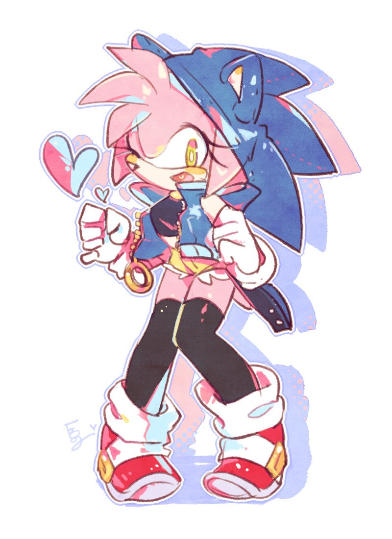 Amy With Her Sonic Gear Sonic The Hedgehog Know Your Meme