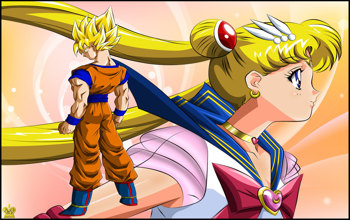 moon Dragon ball sailor z and