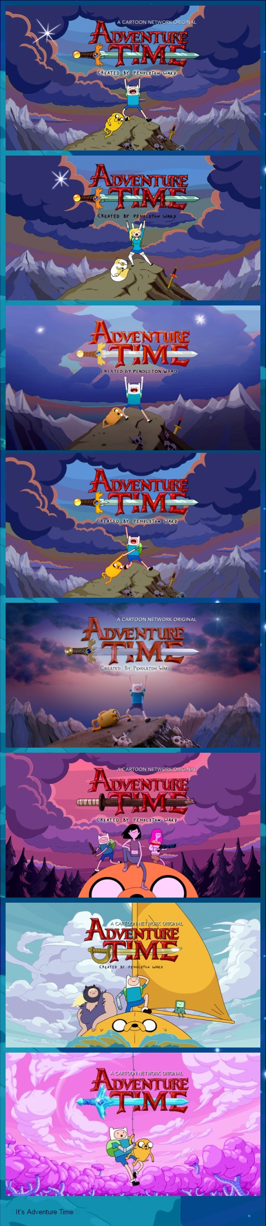 Adventure Time over the years | Adventure Time | Know Your Meme