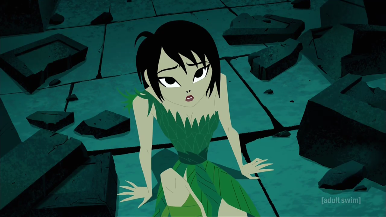 [adult swim] green art cartoon fictional character snapshot illustration