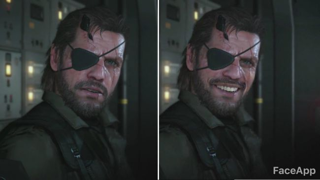 Venom Snake, MGS 5 | FaceApp | Know Your Meme
