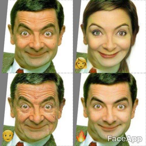 Mr  Bean | FaceApp | Know Your Meme