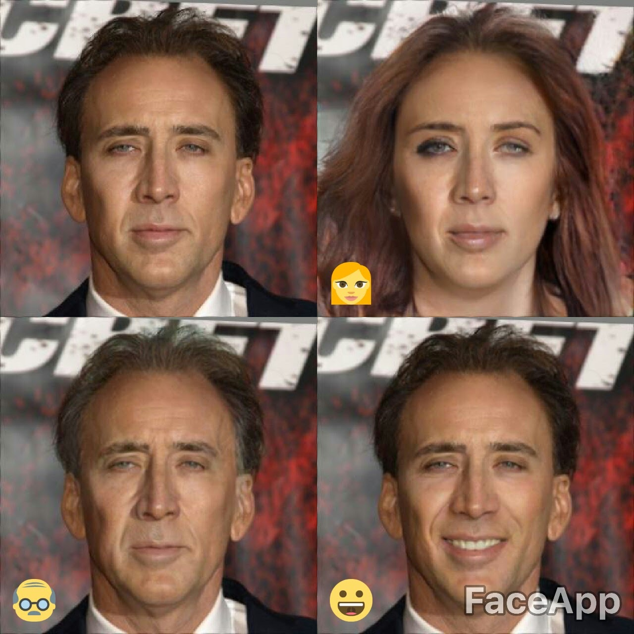 Nic Cage | FaceApp | Know Your Meme