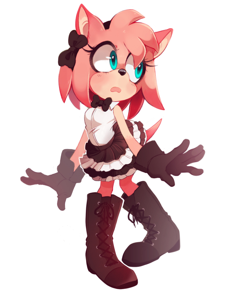 Fancy Amy Rose Dress Up Sonic The Hedgehog Know Your Meme