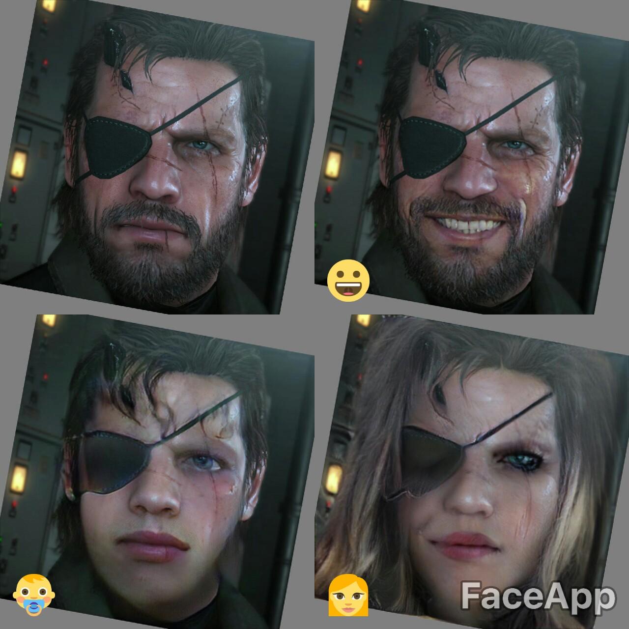 Venom Snake Faceapp Faceapp Know Your Meme