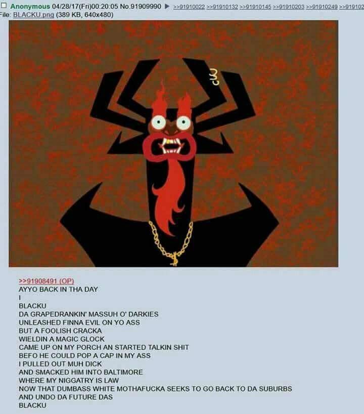 Blacku | Samurai Jack | Know Your Meme