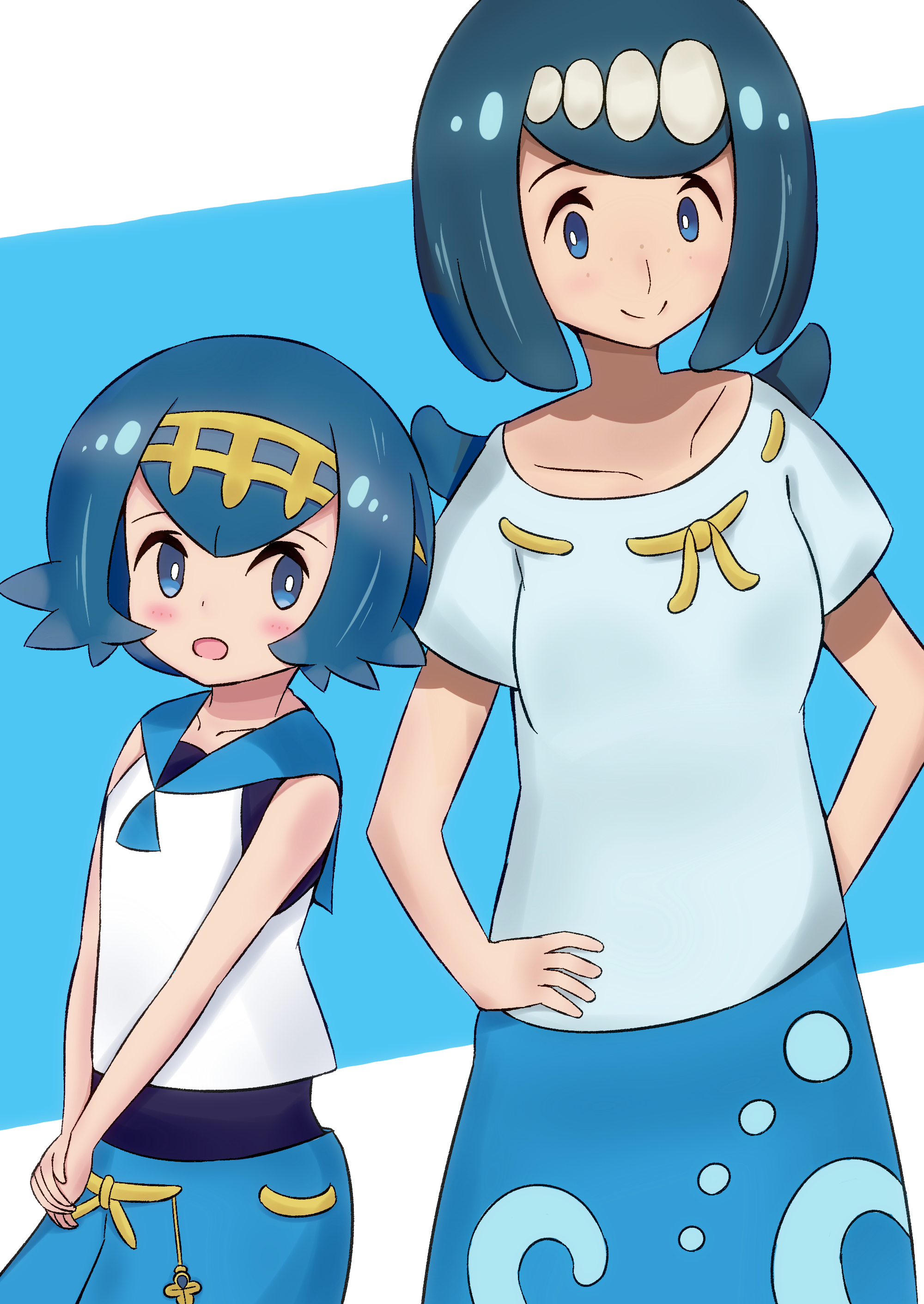 Mother And Daughter  Pokmon Sun And Moon  Know Your Meme-7451