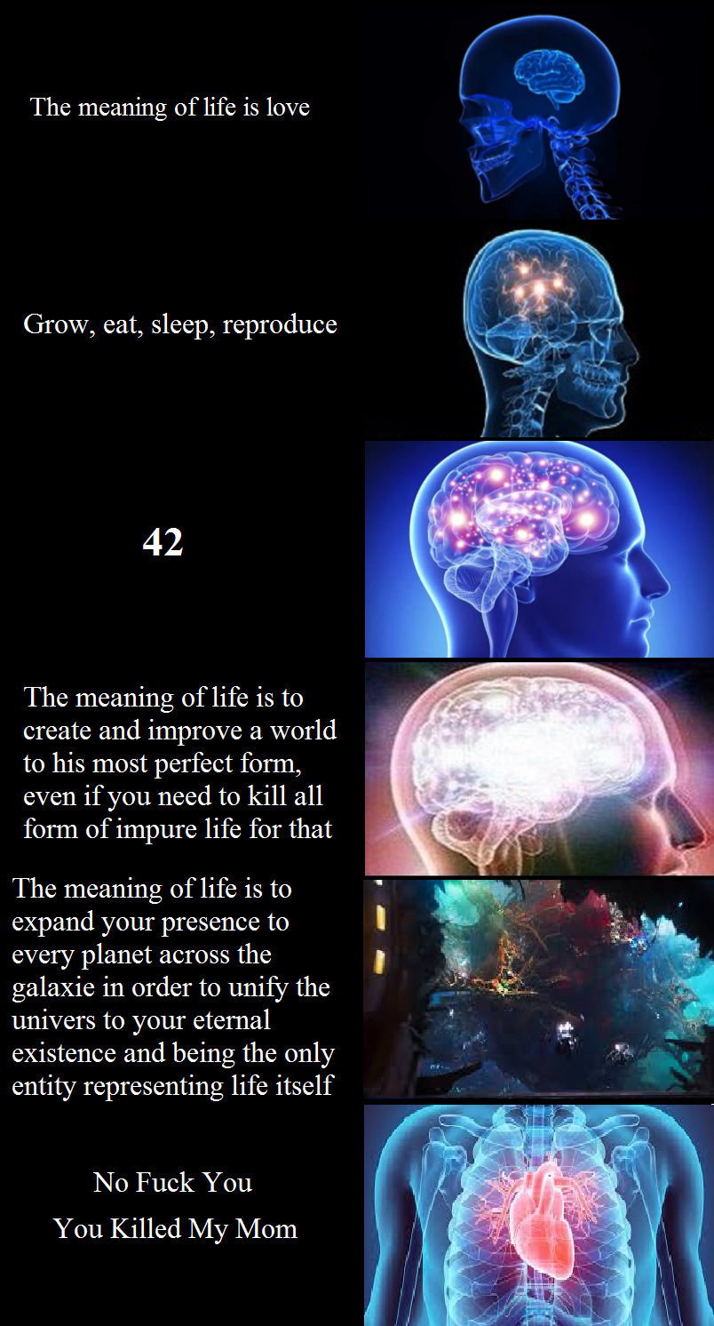brain expanding yes meme reference expand mom fuck gotg meaning itself even perfect know order grow random being form
