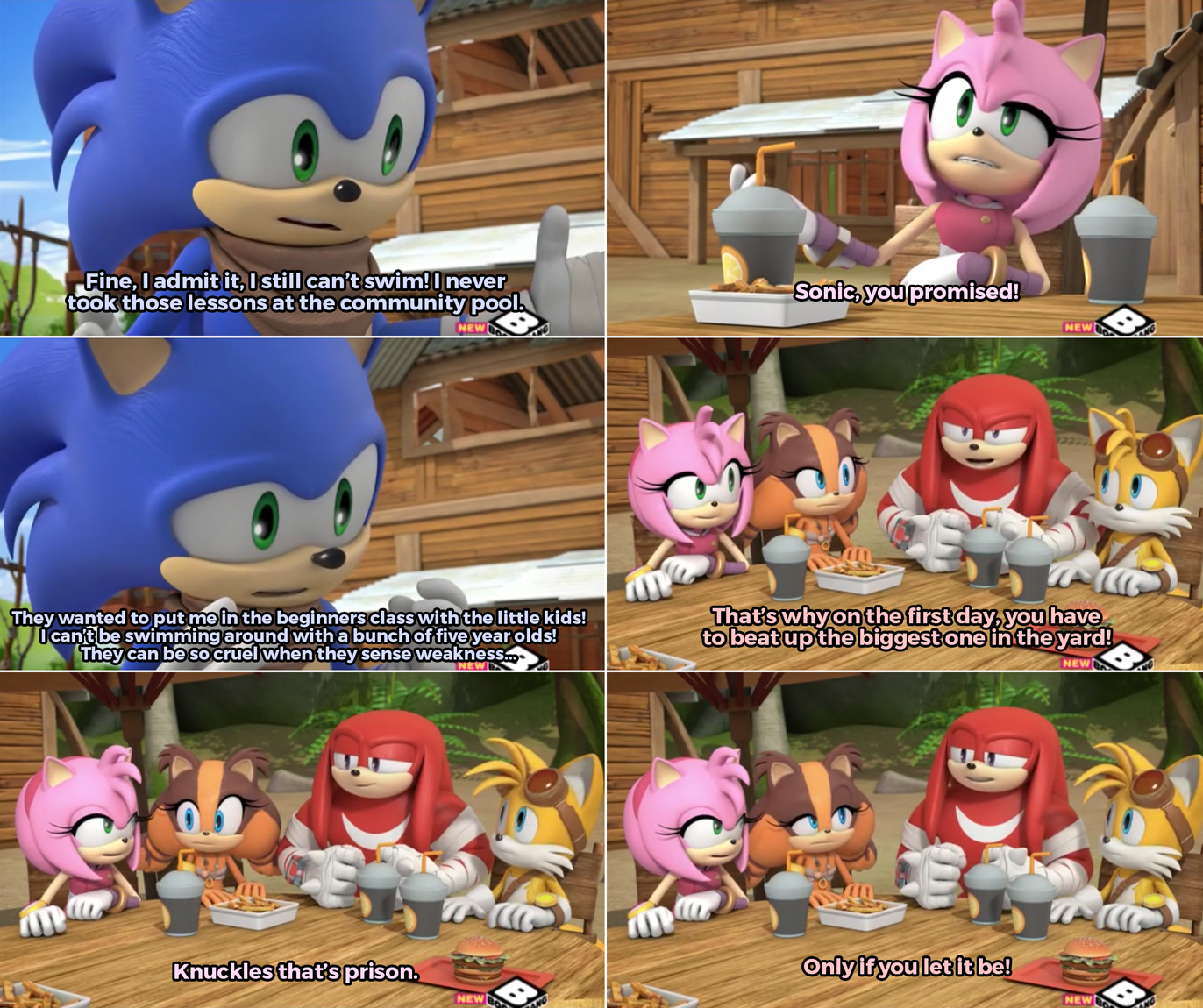 knuckles knows sonic boom know your meme