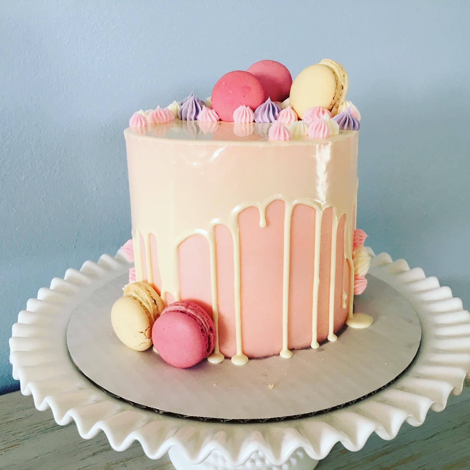 Macaron Cake Buttercream Cake Decorating Icing Dessert Sugar Cake Torte Pasteles Sugar Paste Sweetness Whipped Cream