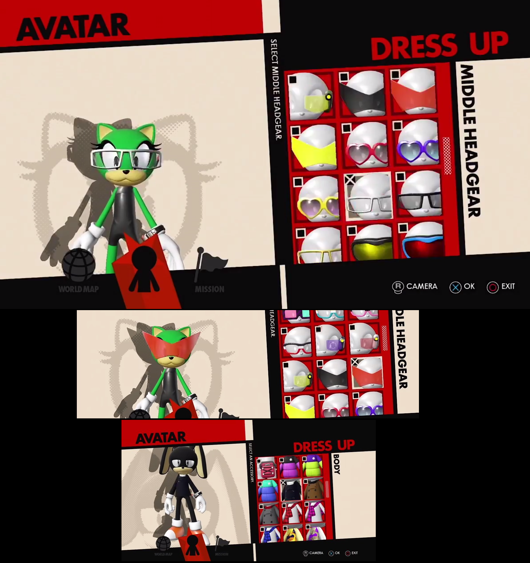 Images of Sonic Forces Character Creator | Sonic the Hedgehog | Know