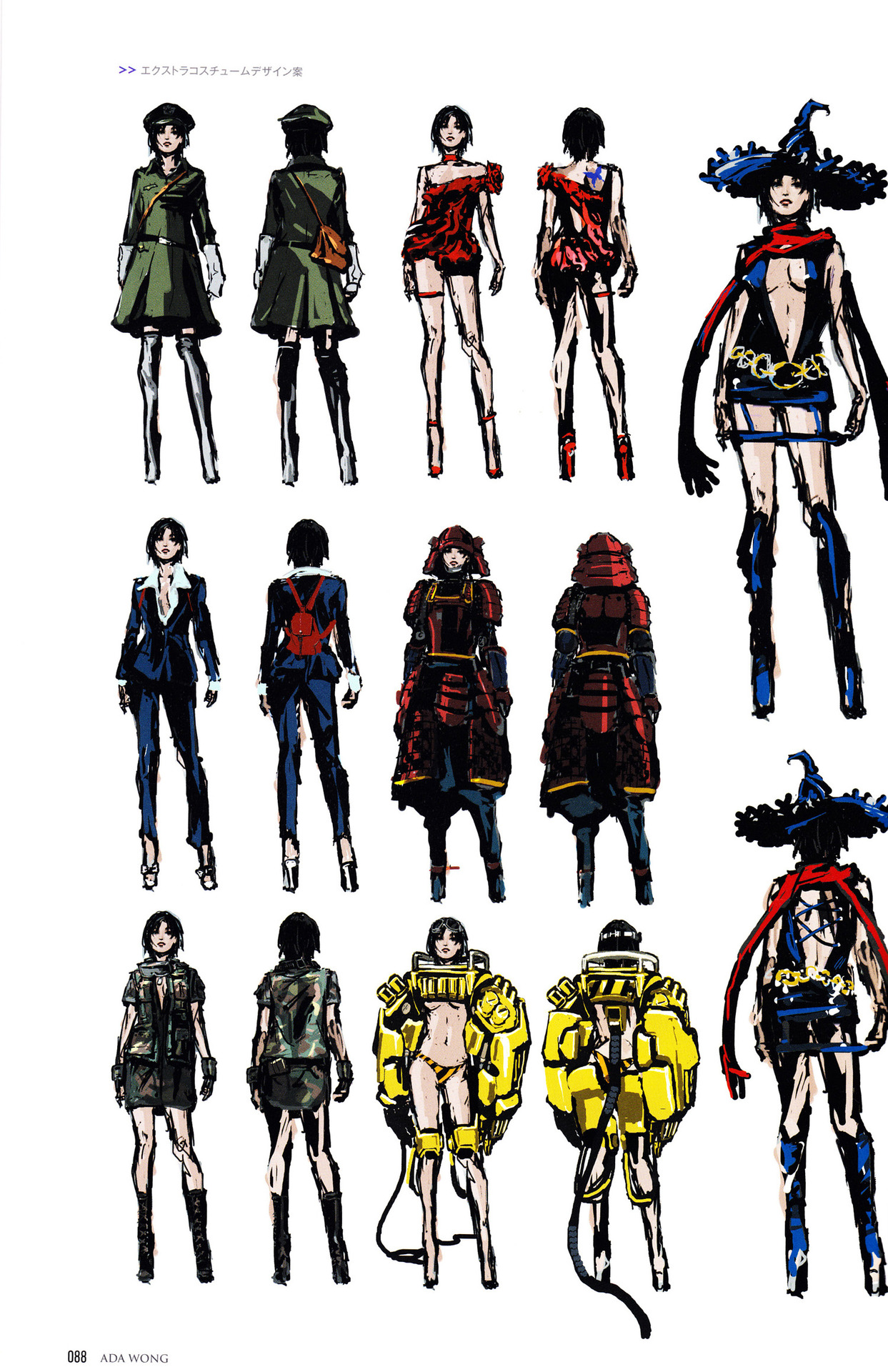 Ada Costume Concepts Re6 1 Resident Evil Biohazard Know