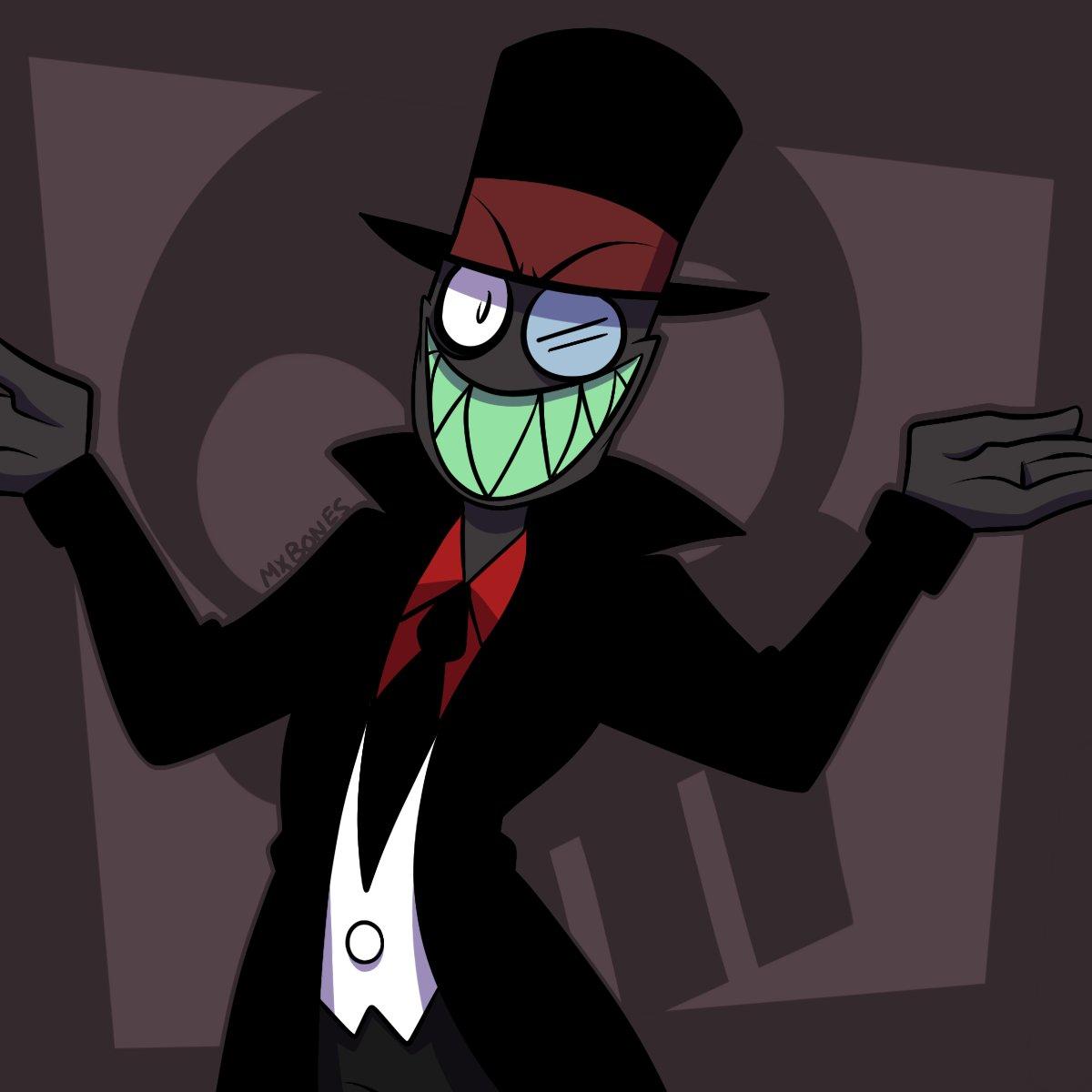 Black Hat Drawn By Mx Bones Villanos Know Your Meme