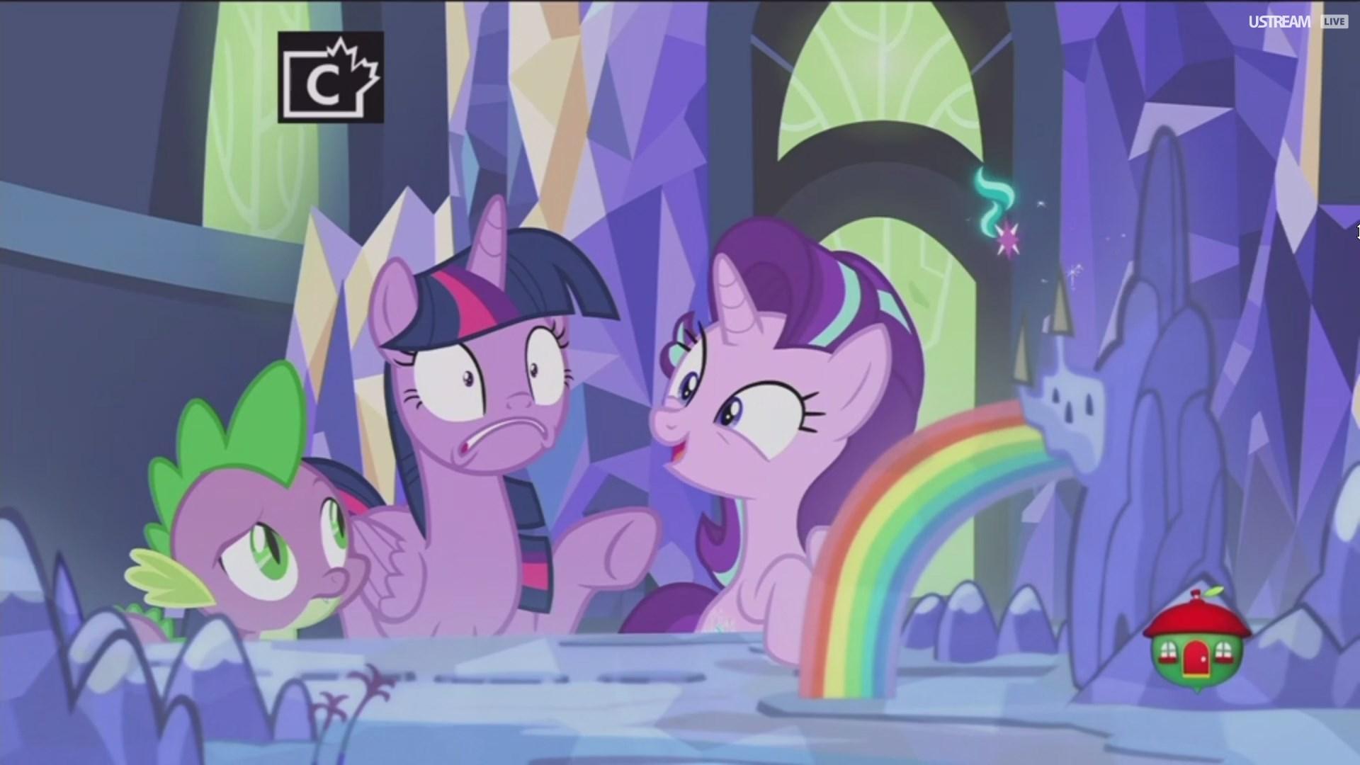 USTREAM LIVE Twilight Sparkle Princess Celestia Luna Rainbow Dash Cartoon Mammal Purple Vertebrate Art Horse